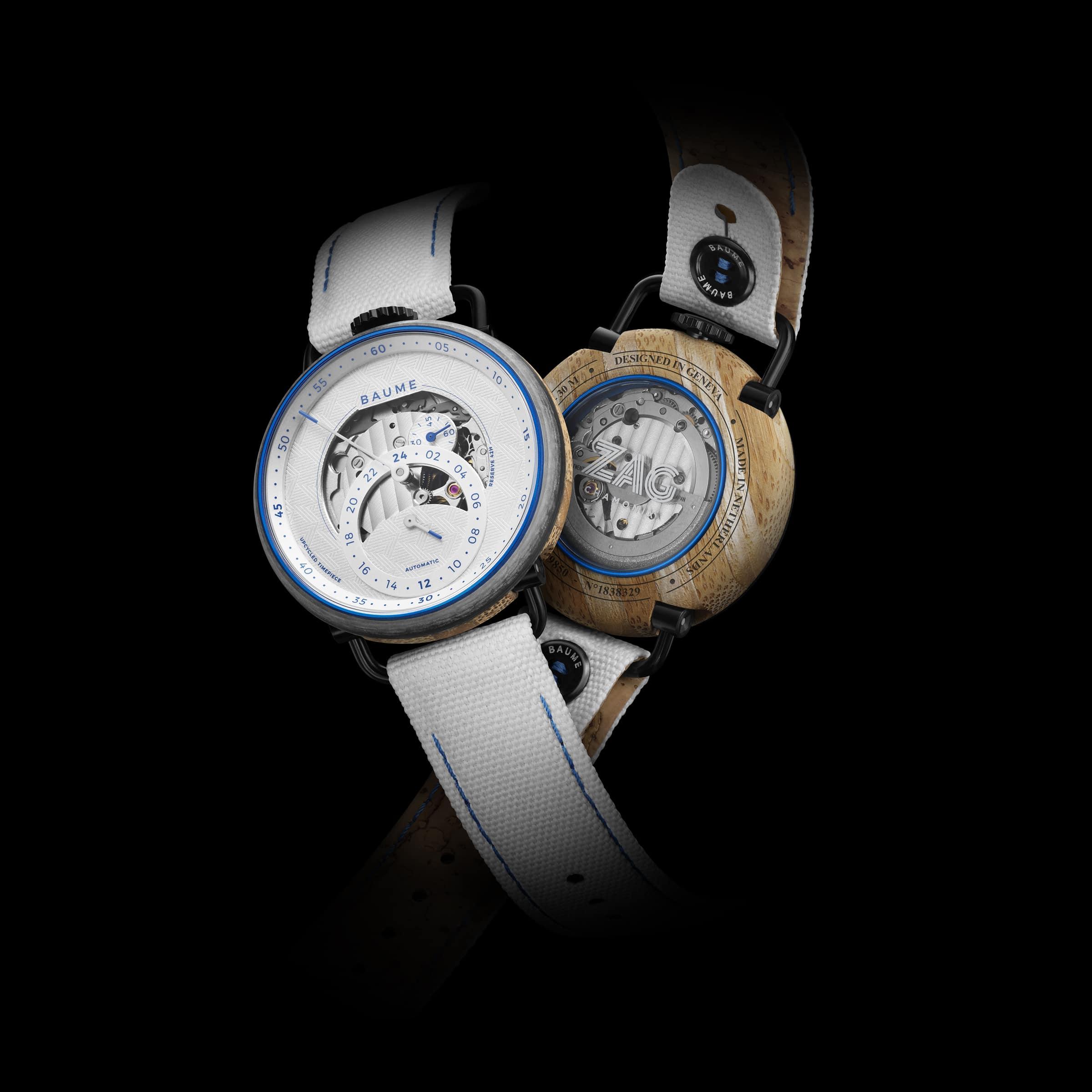 La montre Baume x Zag limited edition.