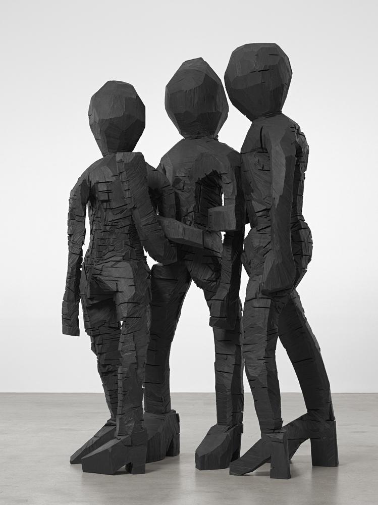 BDM-Gruppe-(BDM Group), 2012. Georg Baselitz