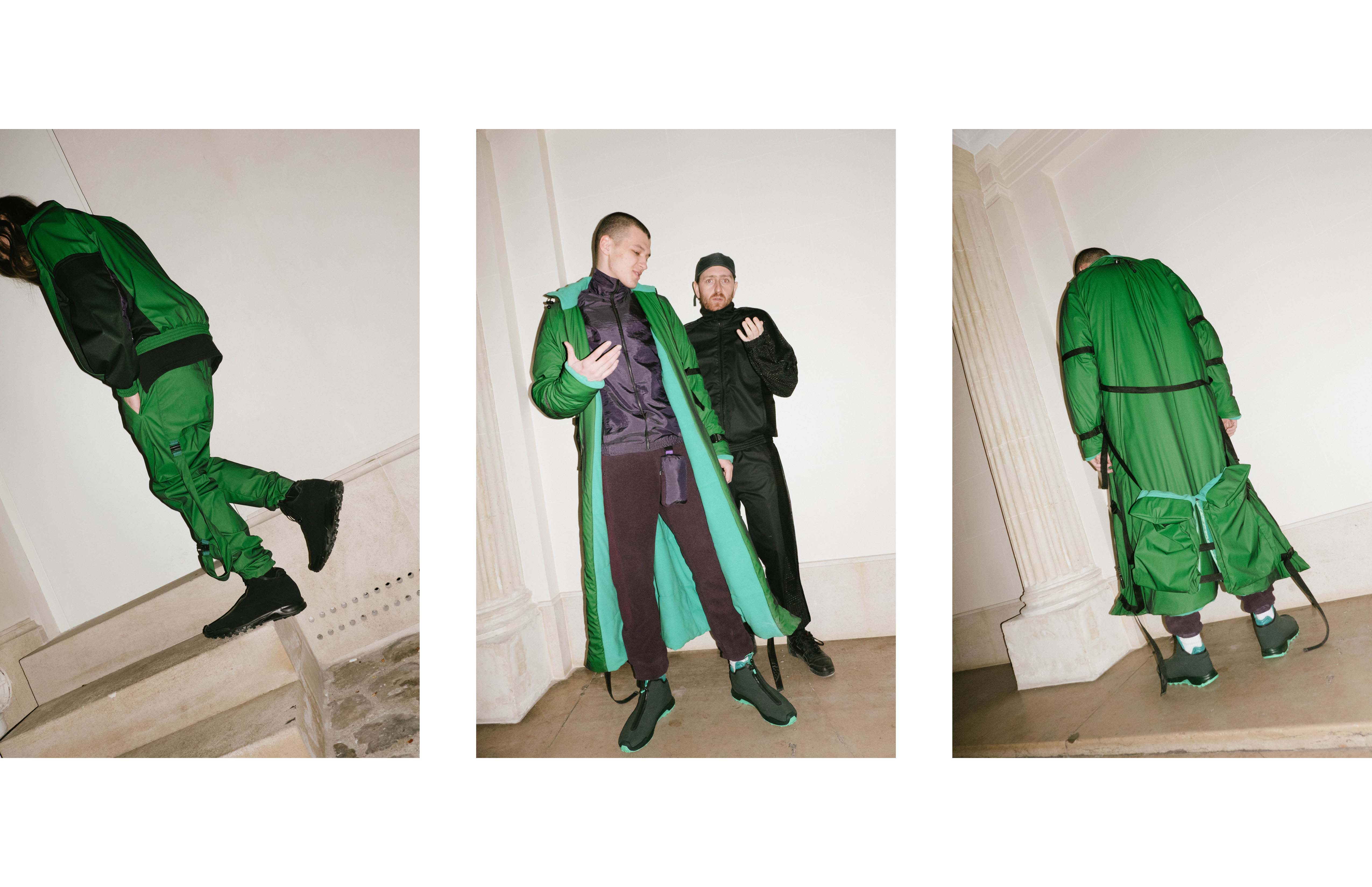 Rob (Lumpen) with Ben Cottweiler at the COTTWEILER showroom
