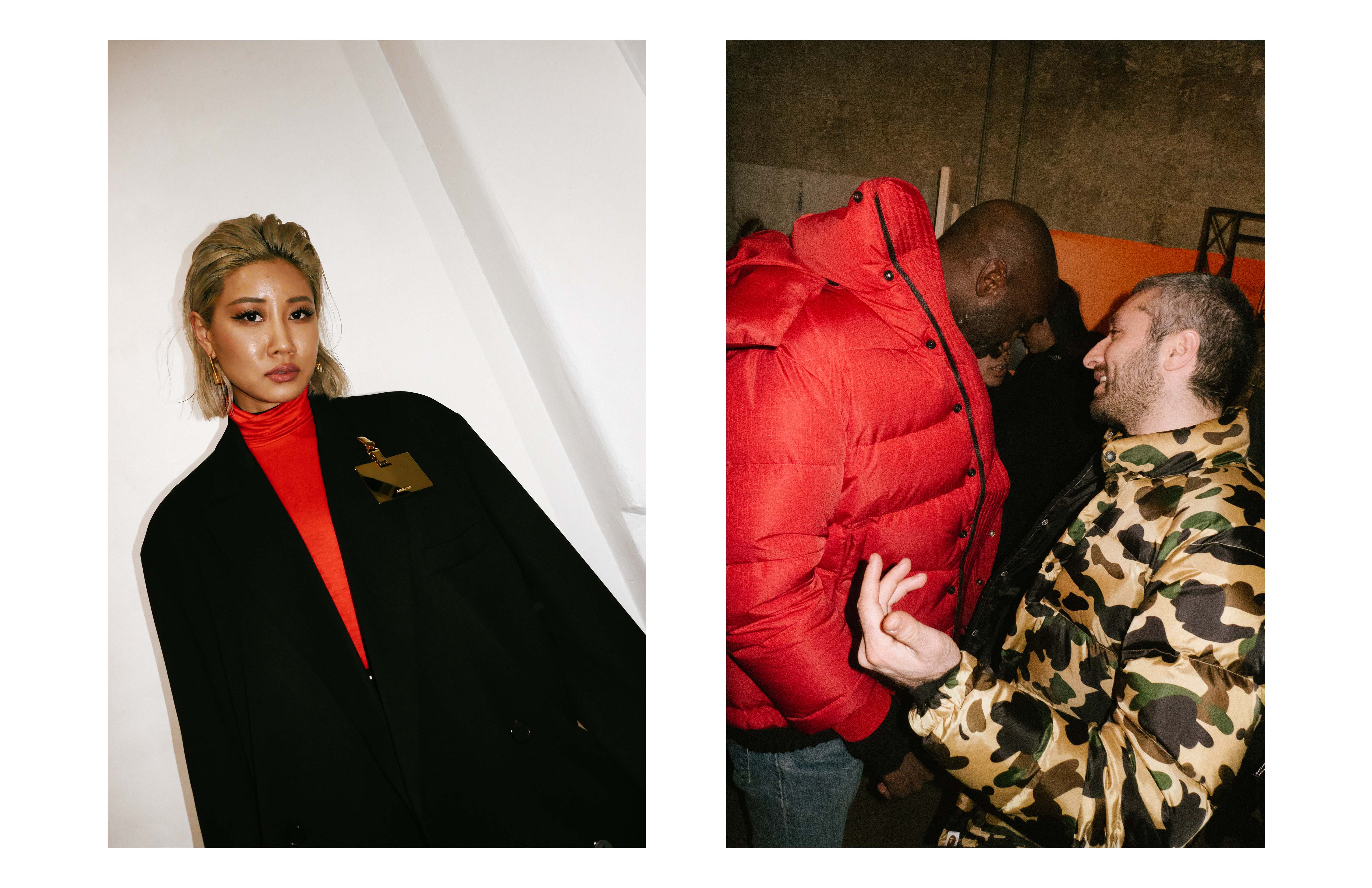 From left to right : Yoon Ambush, Virgil Abloh and Arthur Kar