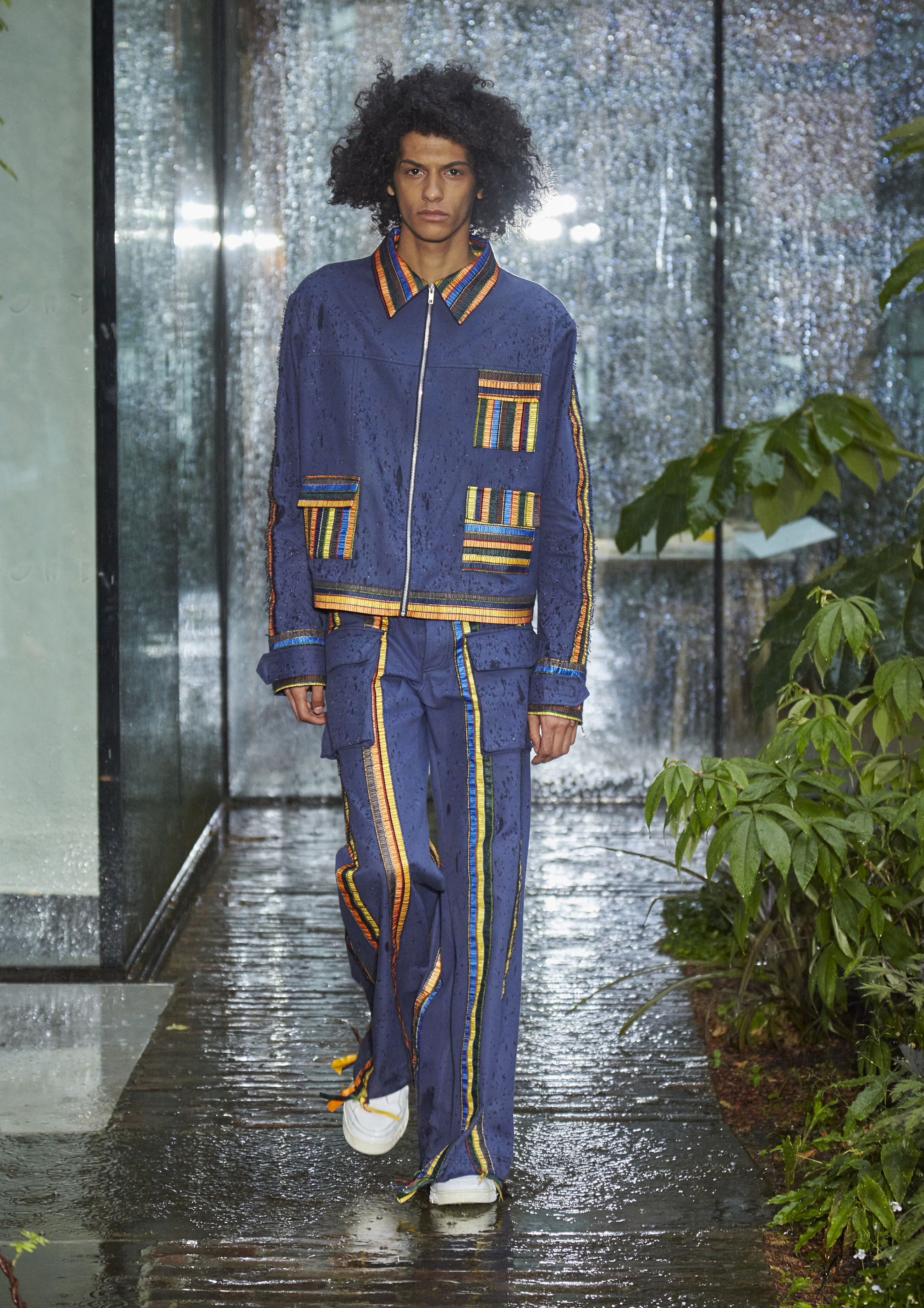 The Butterfly Café, menswear Spring-Summer 2019-2020 collection, Bethany Williams.