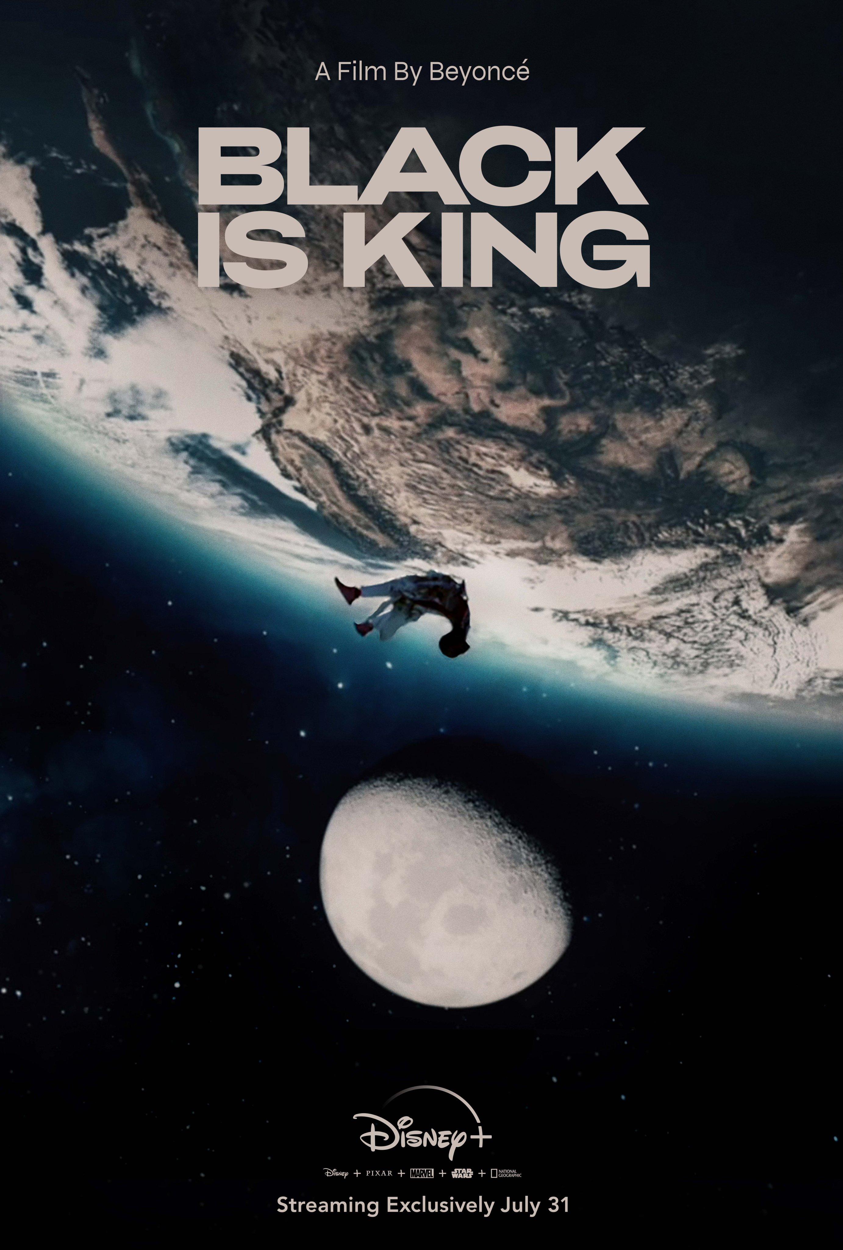 Affiche officielle de Black is King. © Disney