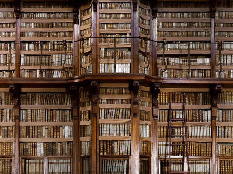 Bibliothèque Angelica à Rome © Massimo Listri