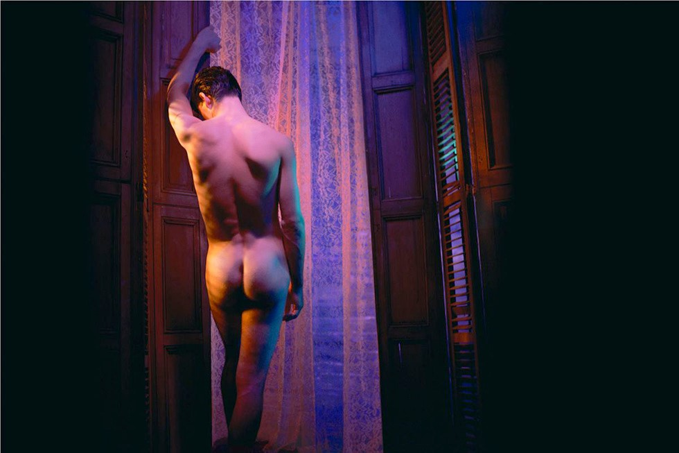 James Bidgood, From the Back, 1960s, digital C-Print. Courtesy of ClampArt, New York