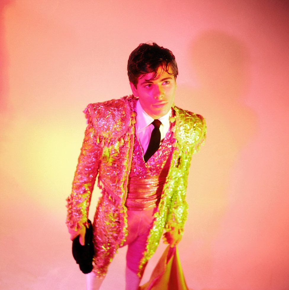 James Bidgood, Bullfighter, mid-to-late 1960s, digital C-Print. Courtesy of ClampArt, New York
