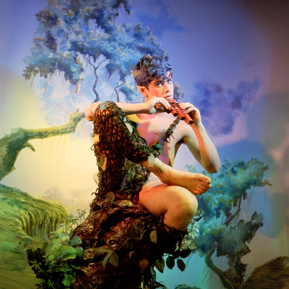 James Bidgood, Pan, late 1960s, digital C-Print. Courtesy of ClampArt, New York