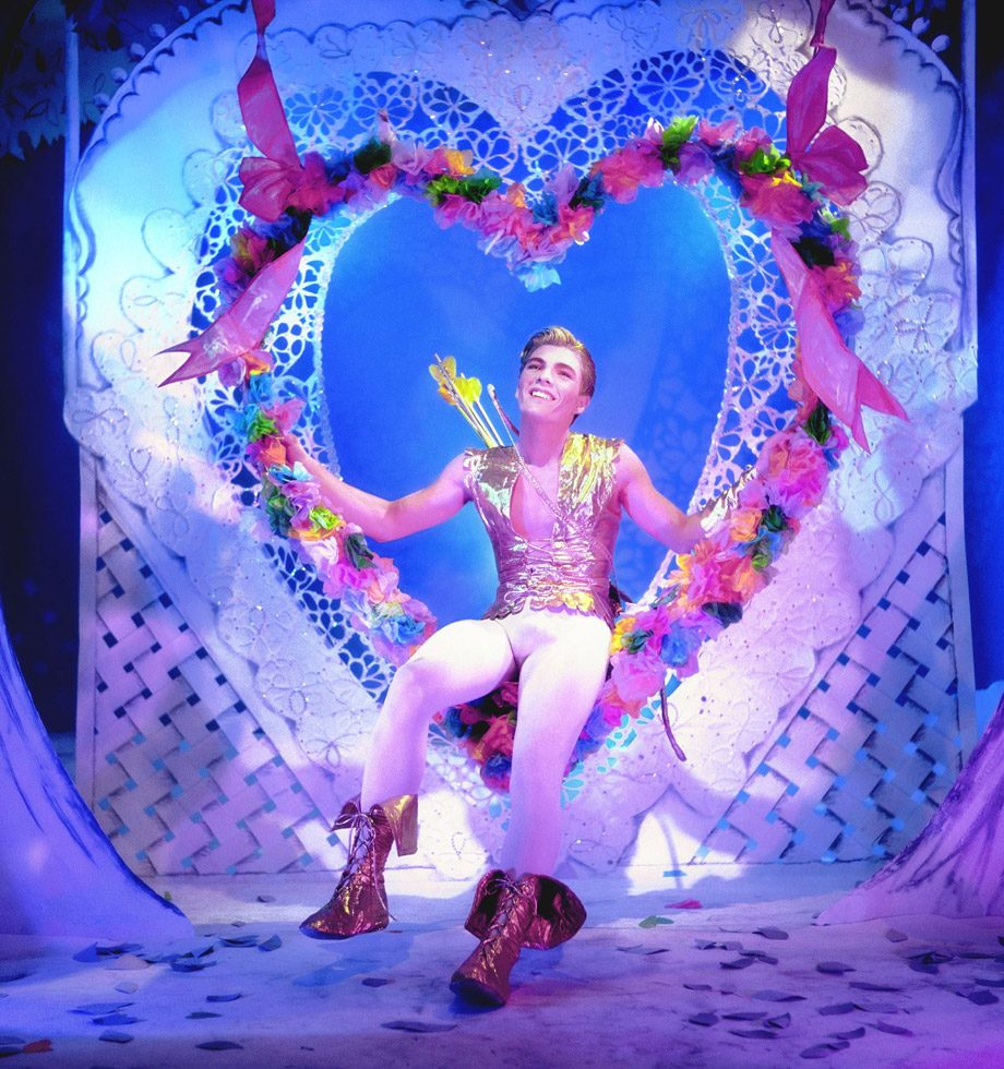 James Bidgood, Valentine, mid-1960s, digital C-Print. Courtesy of ClampArt, New York