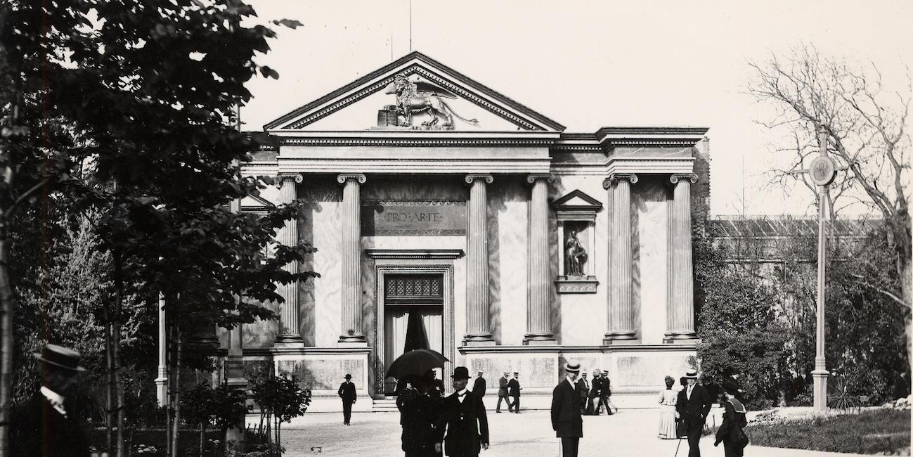 """Palazzo dell'Esposizione, """"I Esposizione Internazionale d'Arte della Città di Venezia"""", 1895."""