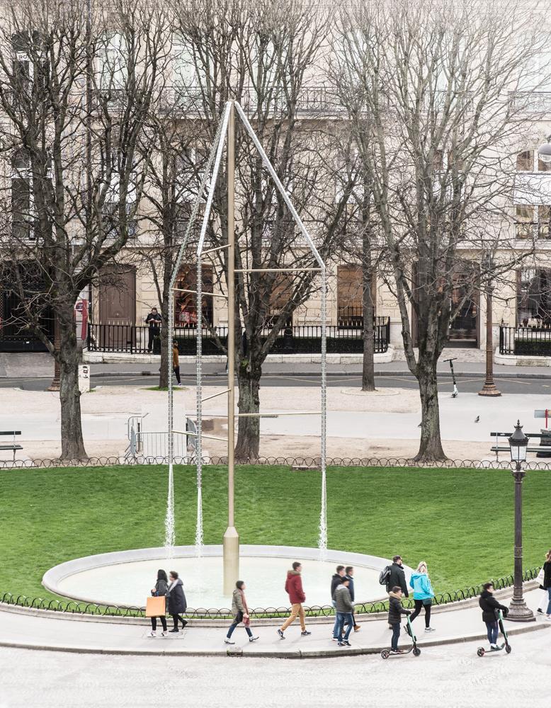 Les fontaines des Champs-Élysées, Ronan et Erwan Bouroullec, © Charles Pétillon.