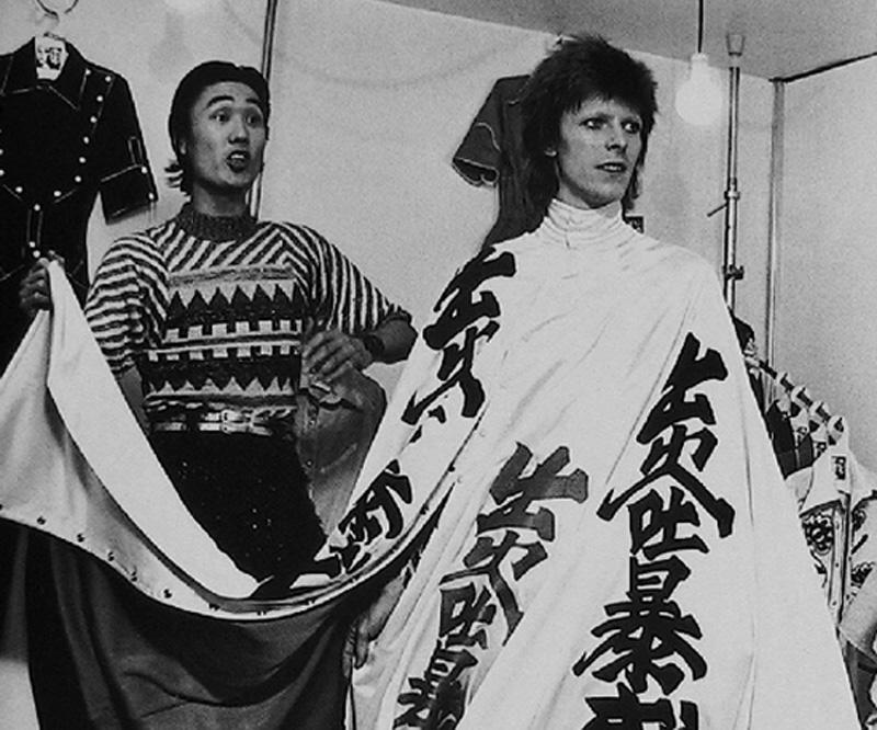 David Bowie et Kansai Yamamoto