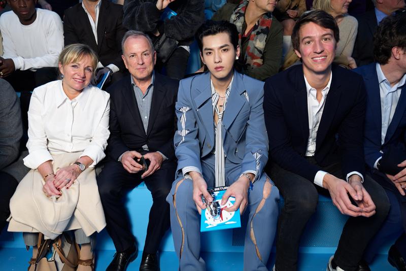 Brigitte et Michael BUrke, Kris Wu et Alexandre Arnault