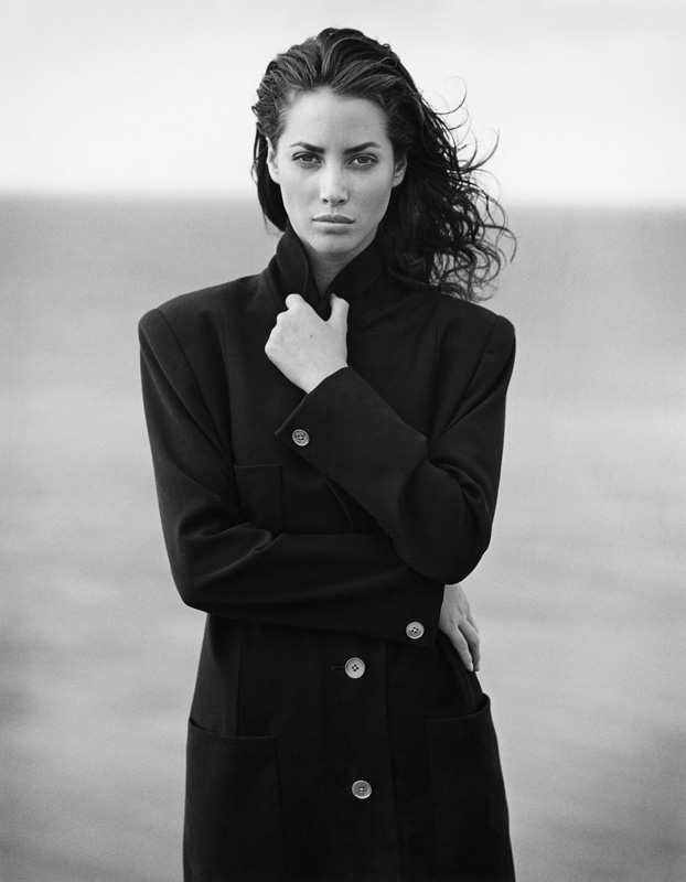 Christy Turlington par Bruce Weber
