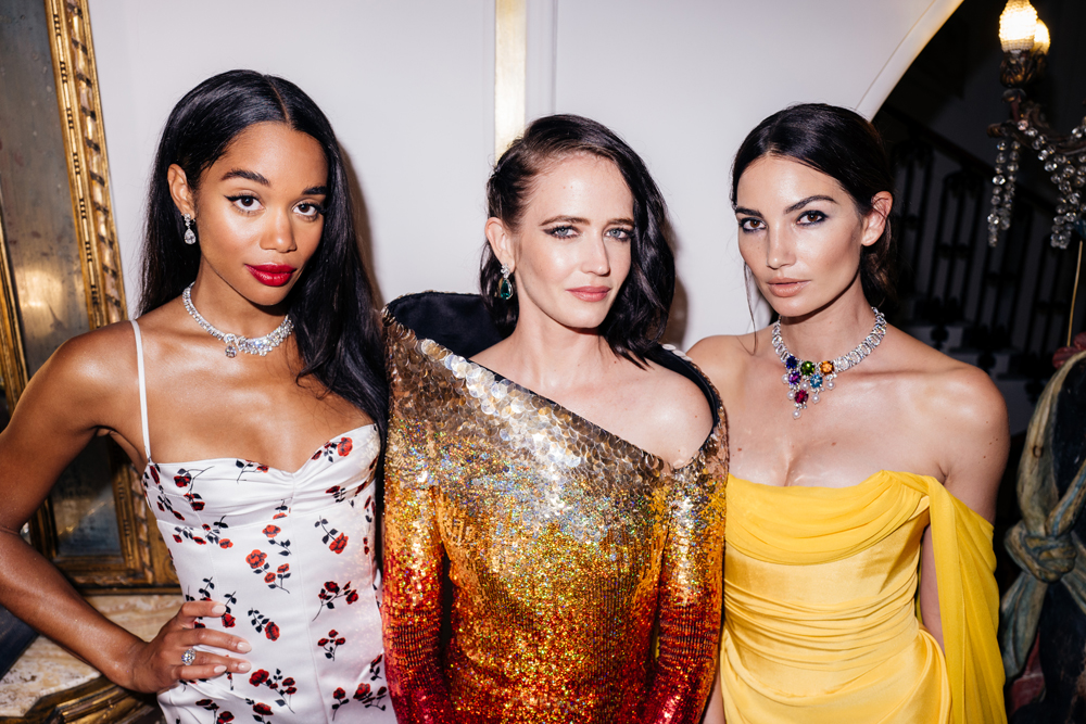 Laura Harrier, Eva Green et Lily Aldridge © German Larkin