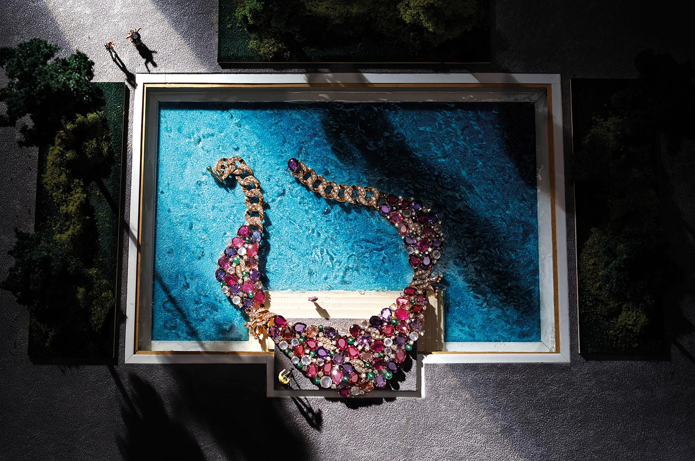 "Le collier ""Candies"", de la collection ""Cinemagia"""