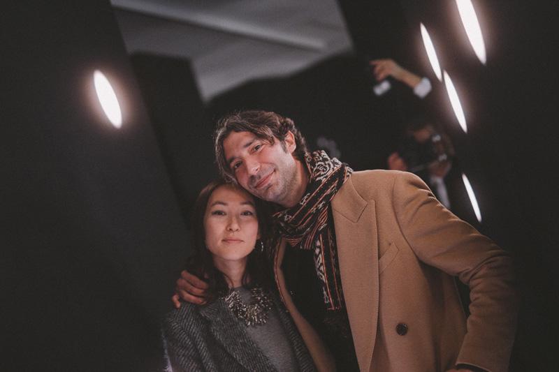 Erika Kurihara et Xerxes Cook