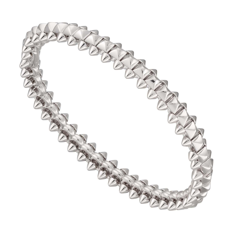 Bracelet en or blanc. © Clash de Cartier