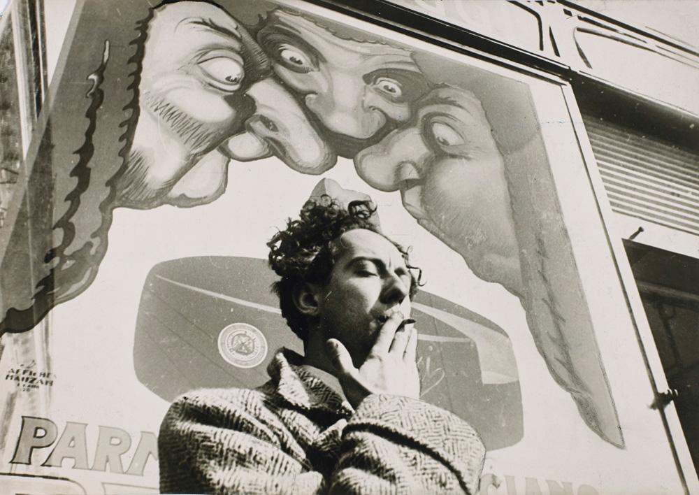 """""""André Pieyre de Mandiargues, Italie, 1933"""" de Henri Cartier-Bresson, Magnum Photo"""