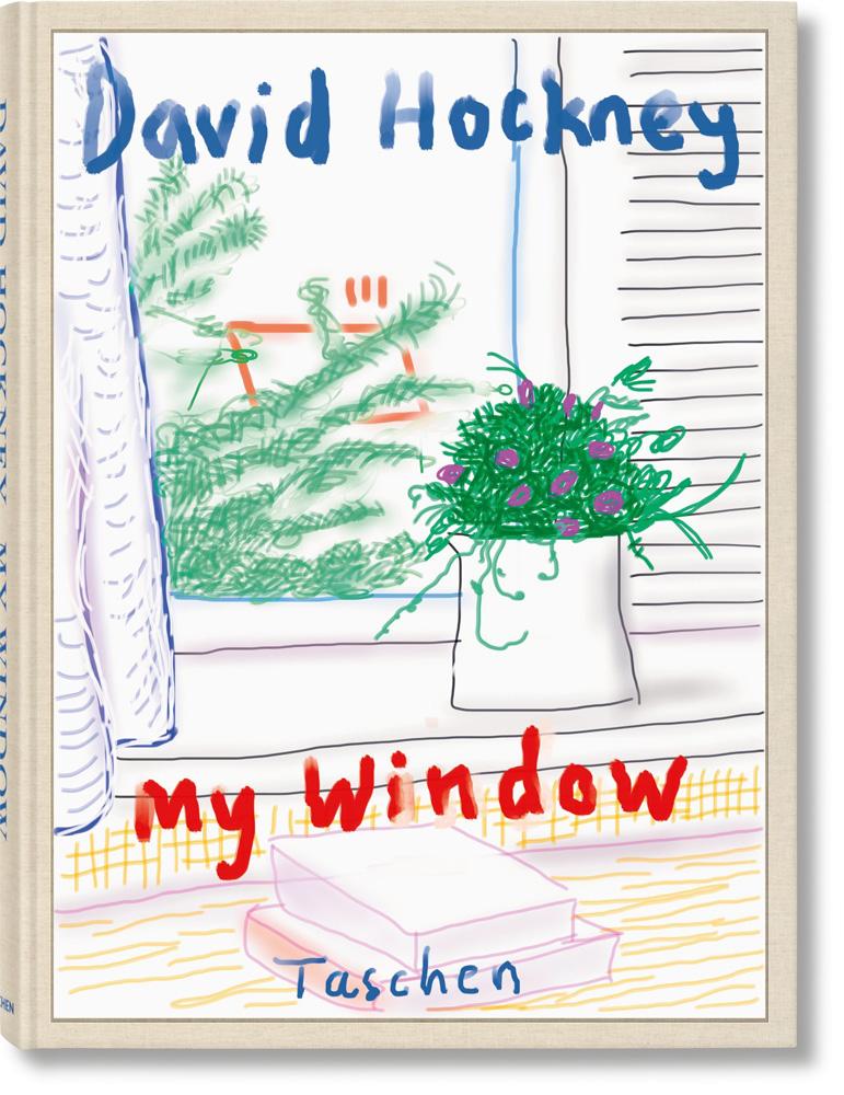 "L'ouvrage ""My Window"" de David Hockney (ed. Taschen)"