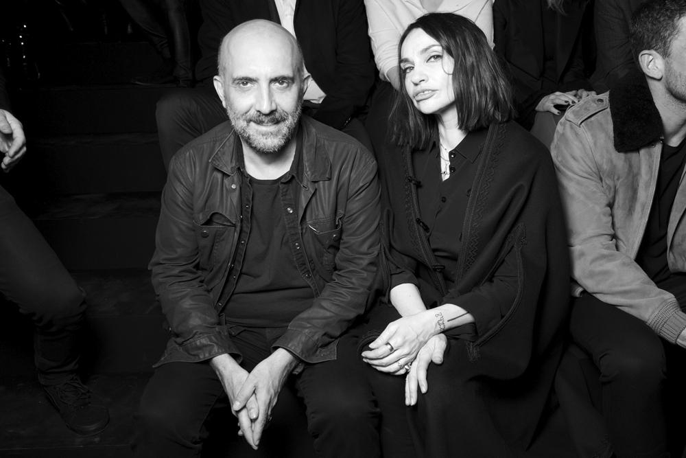 Gaspar Noé et Béatrice Dalle.