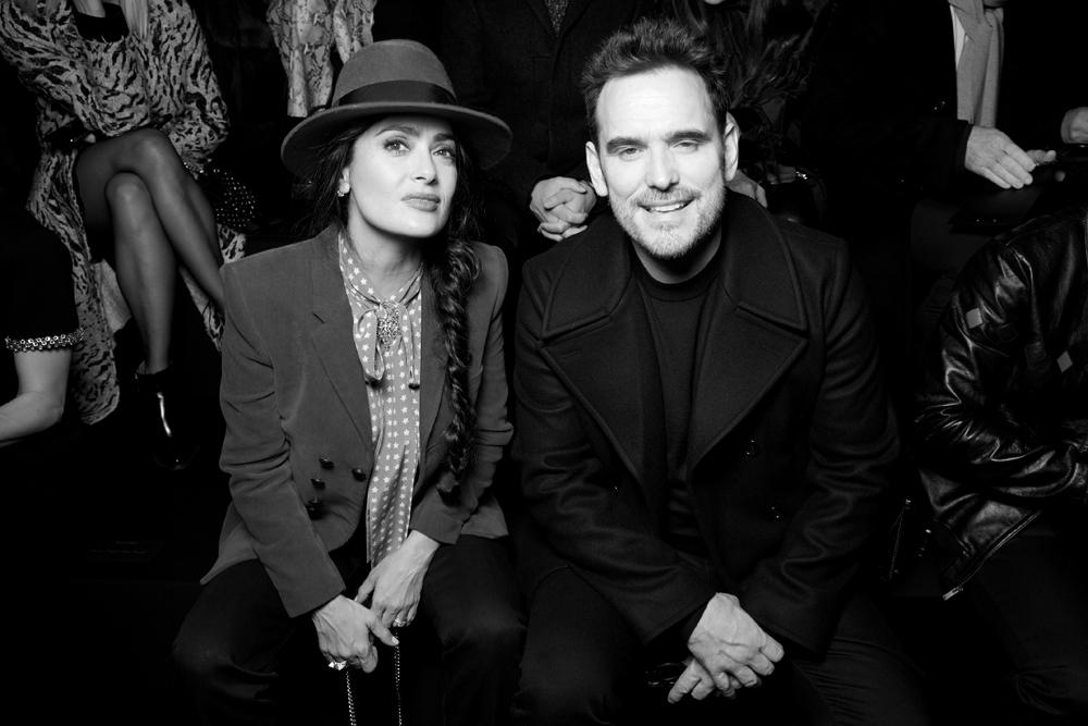 Salma Hayek et Matt Dillon.