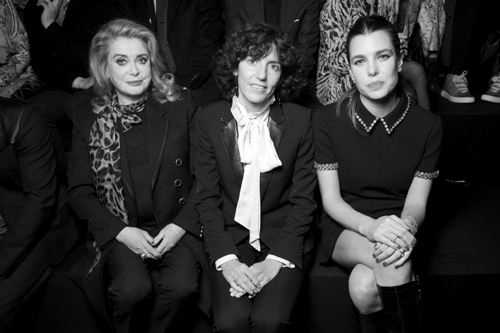 Catherine Deneuve, Francesca Bellettini et Charlotte Casiraghi.