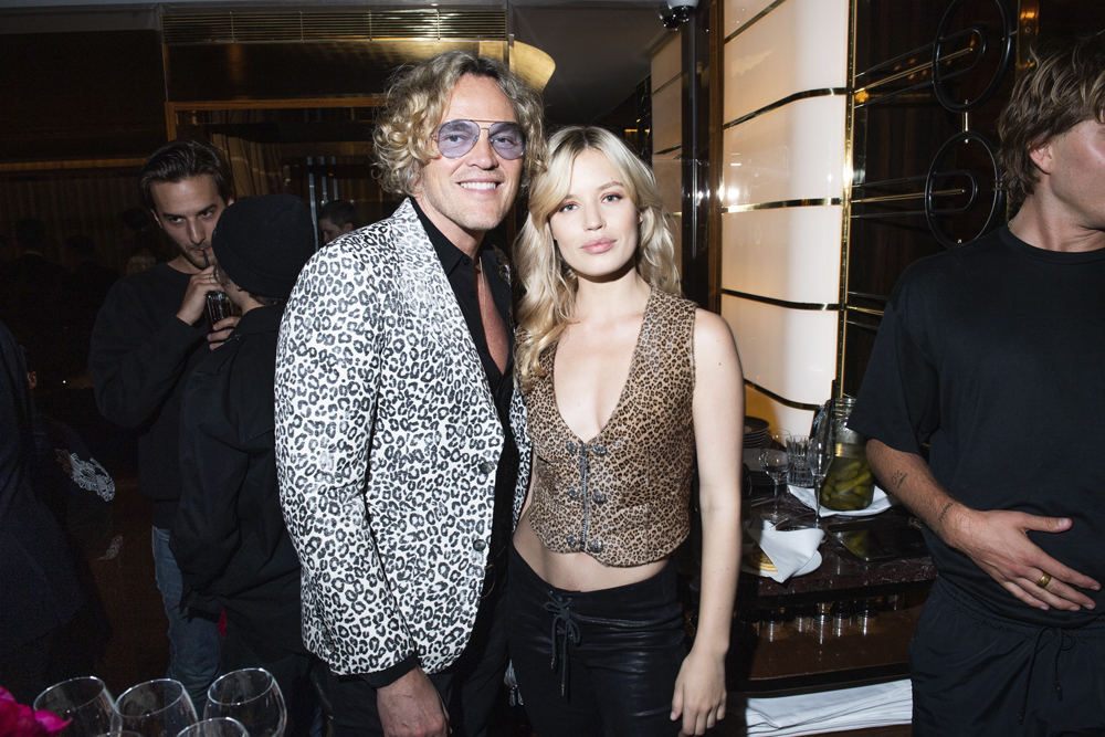 Peter Dundas et Georgia May Jagger