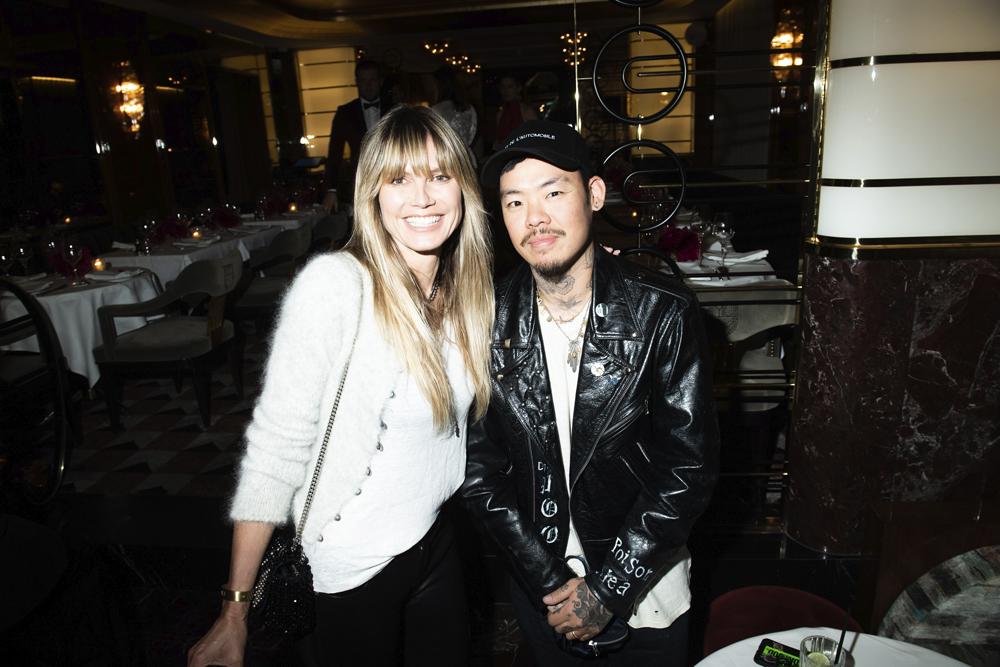 Heidi Klum et Dr Woo
