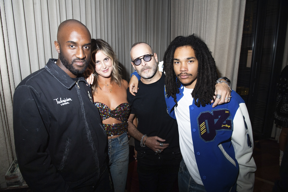 Virgil Abloh, Stephanie Reynolds et Thierry Lasry