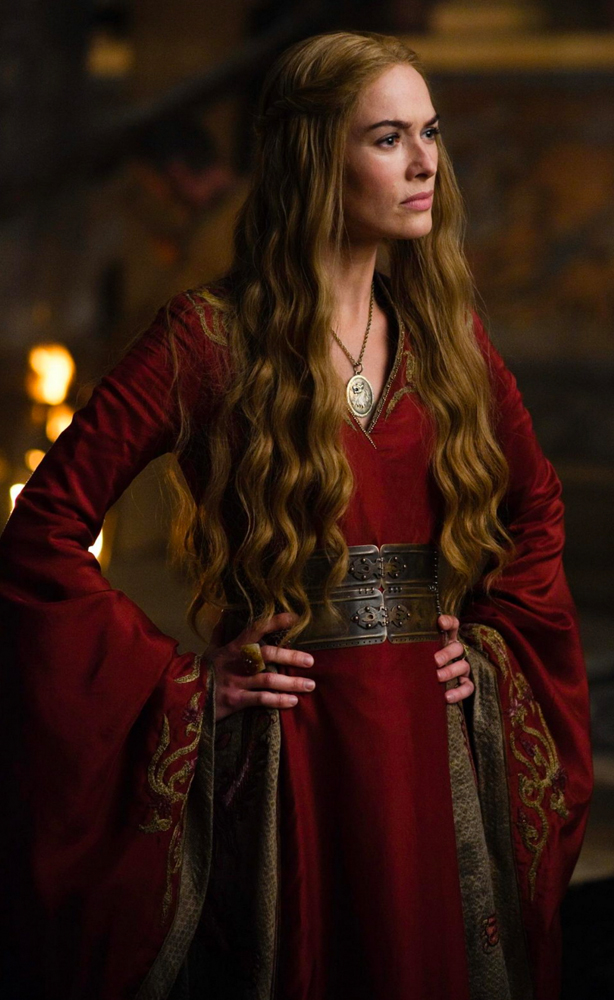 Cersei Lannister in Game of Thrones.