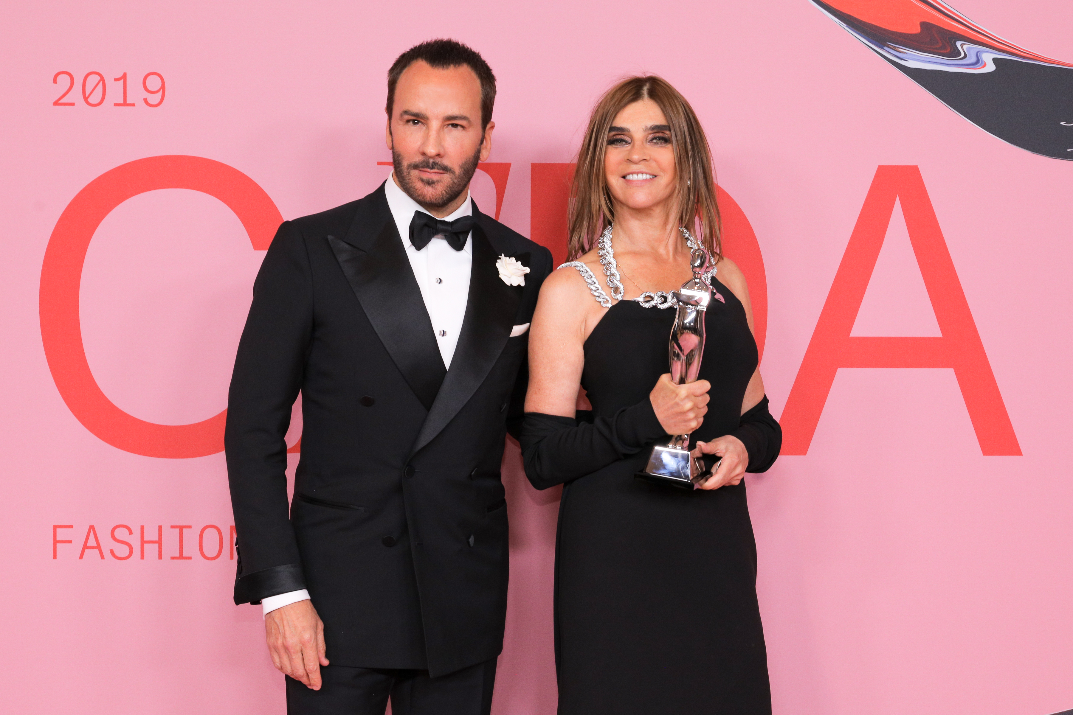 Tom Ford et Carine Roitfeld
