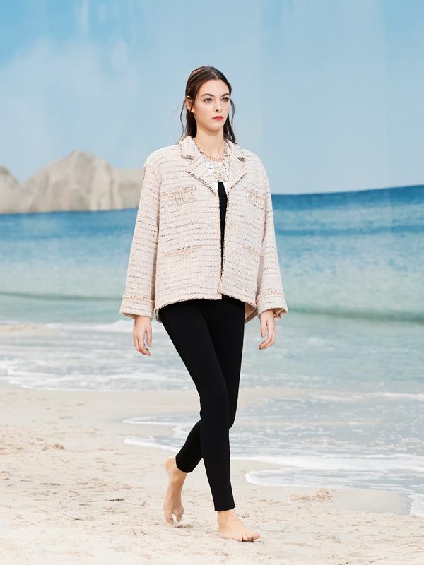Zara femme veste a carreaux
