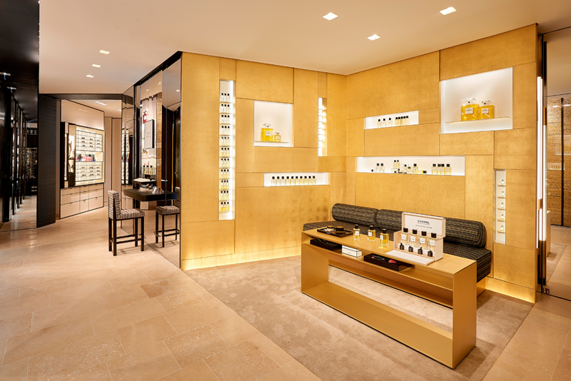 La nouvelle boutique Chanel au 19, rue Cambon © Olivier Saillant