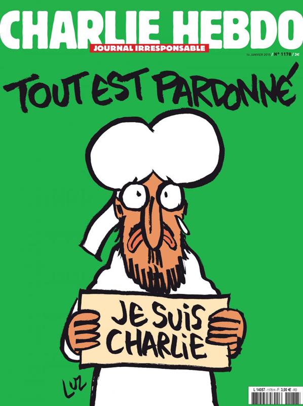Charlie Hebdo, une du 14 janvier 2015
