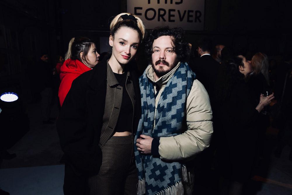 Charlotte Le Bon et Matthieu Cesar