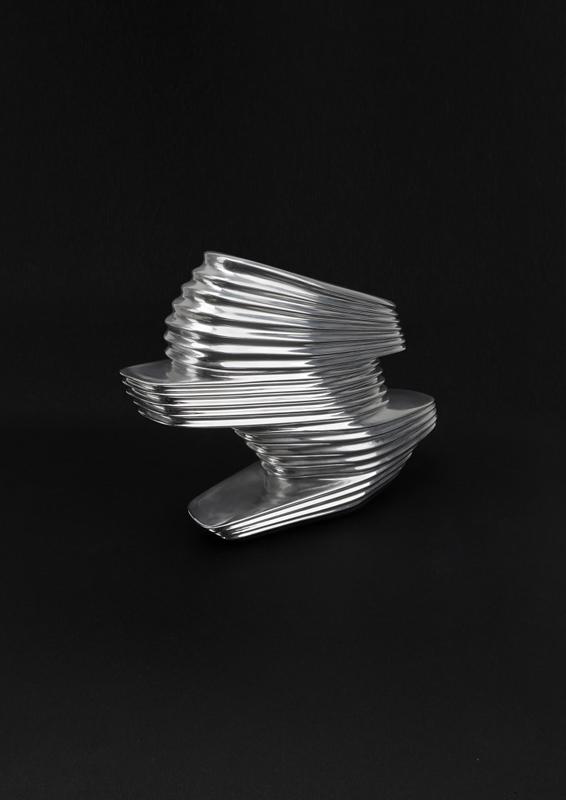 "Zaha Hadid et Rem Koolhaas pour United Nude, ""NOVA Shoe"" (2013), Los Angeles. Courtesy of United Nude"