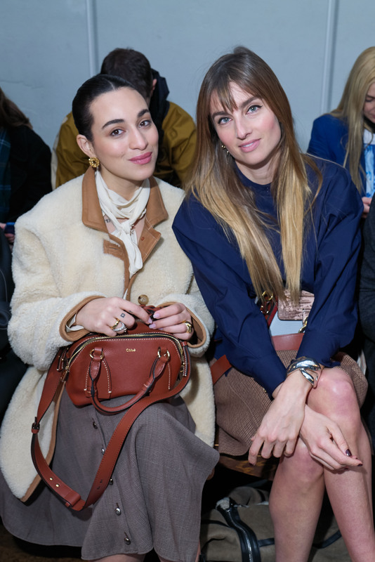Camélia Jordana et Sonia Sieff
