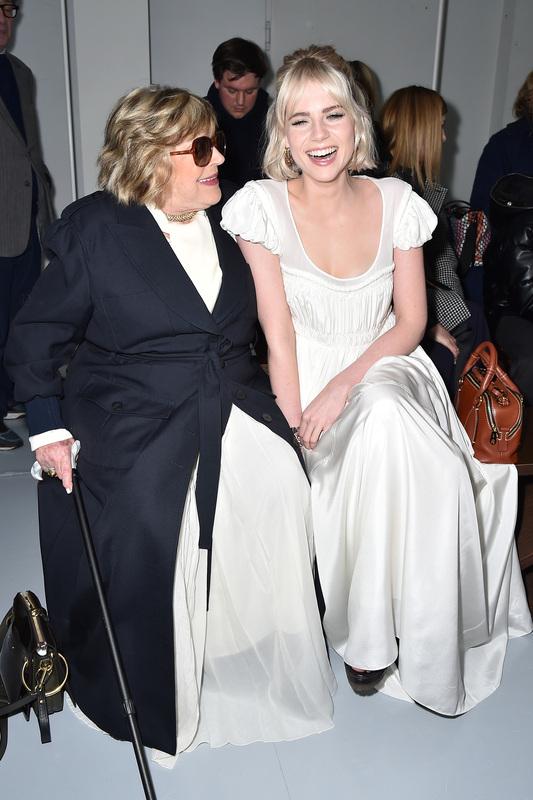 Marianne Faithfull et Lucy Boynton