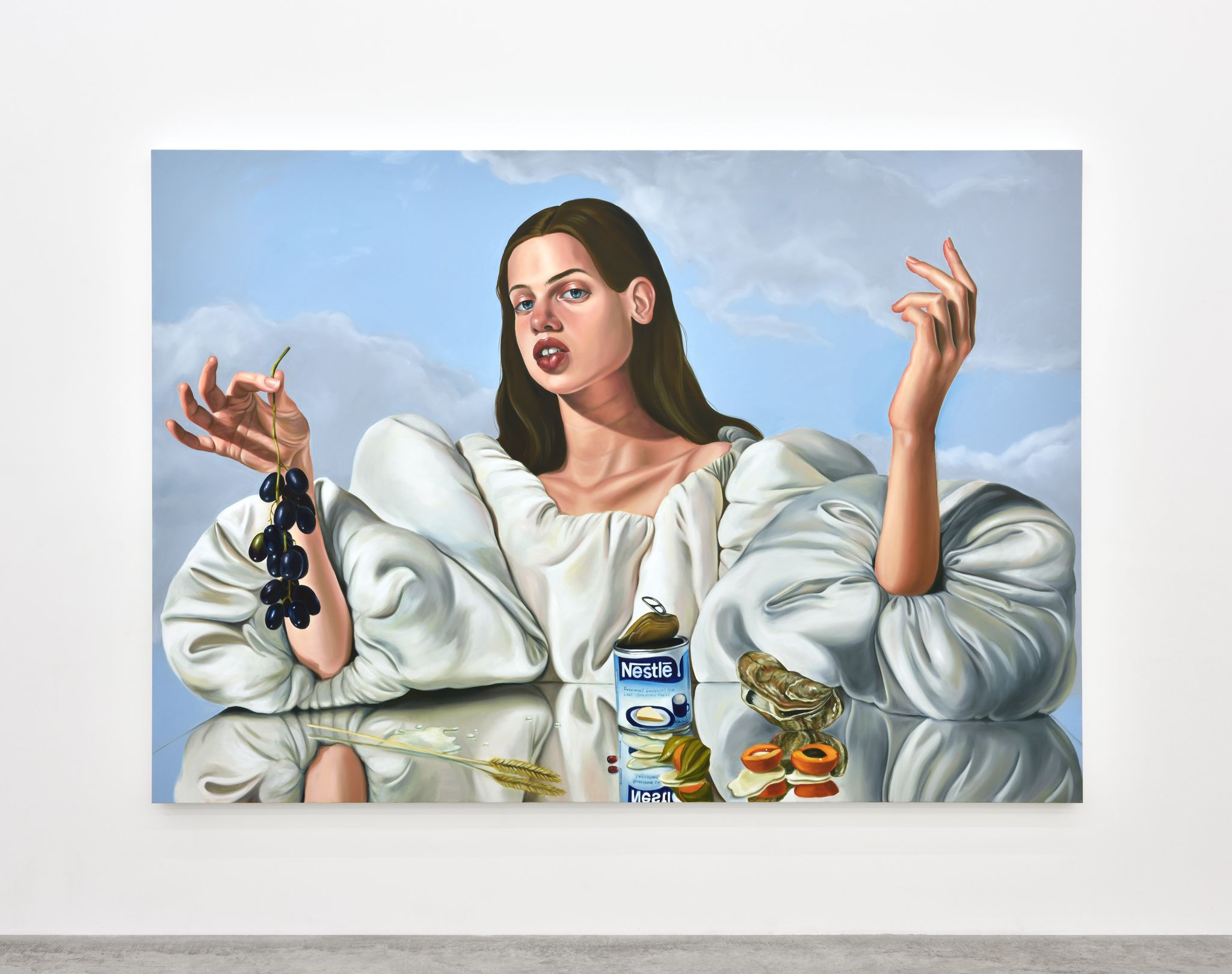 Lactose Tolerance, 2017. Oil on canvas, 210 x 300 cm