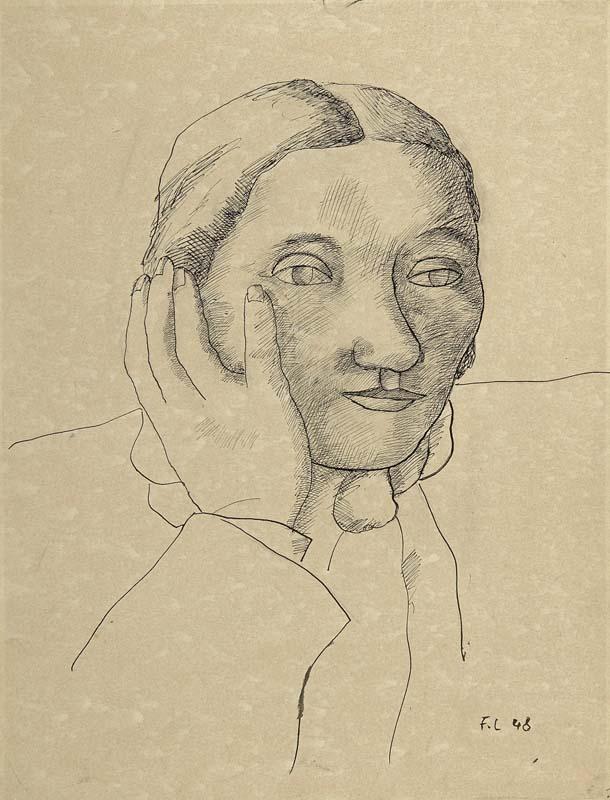 """""""Portrait de Nadia Léger"""", Fernand Léger"""