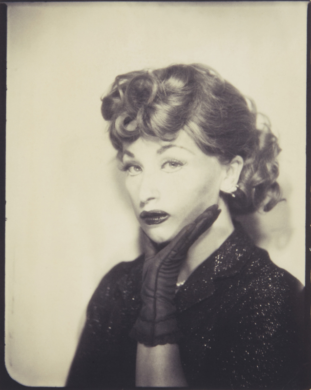 "Cindy Sherman ""Untitled"" (Lucille Ball) 1975 Fujicolor Crystal Archive print, printed 2001. 10 x 7 3/4 in. (25.4 x 19.7 cm) Signed and dated in ink on the verso. Estimate :  $ 8,000 - 12,000"