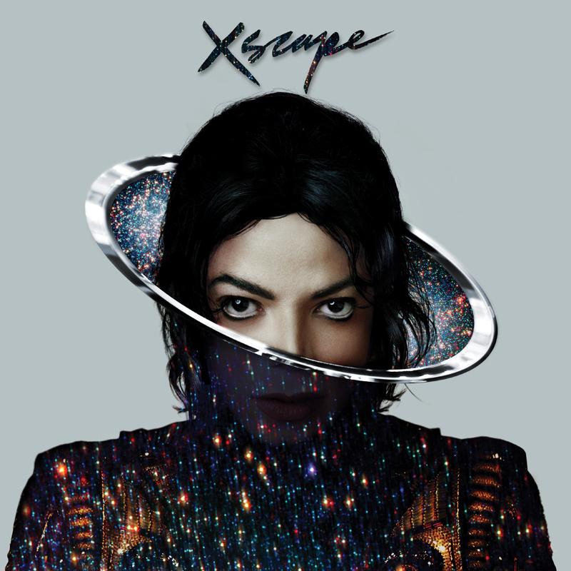 Michael Jackson, Xscape Epic Records, pochette d'album, direction artistique : Mat Maitland, photographie : Bill Nation, 2014.