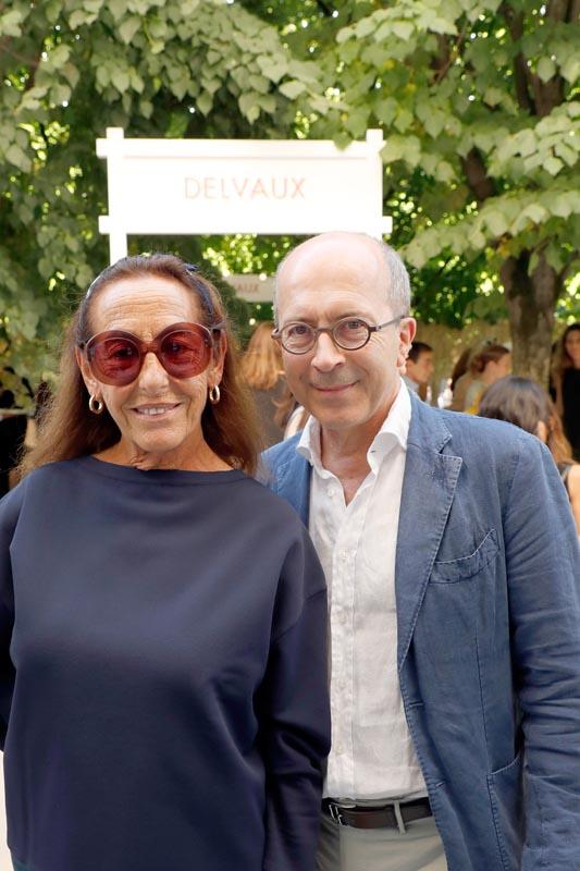 Carlyne Cerf de Dudzeele et Jean-Marc Loubier