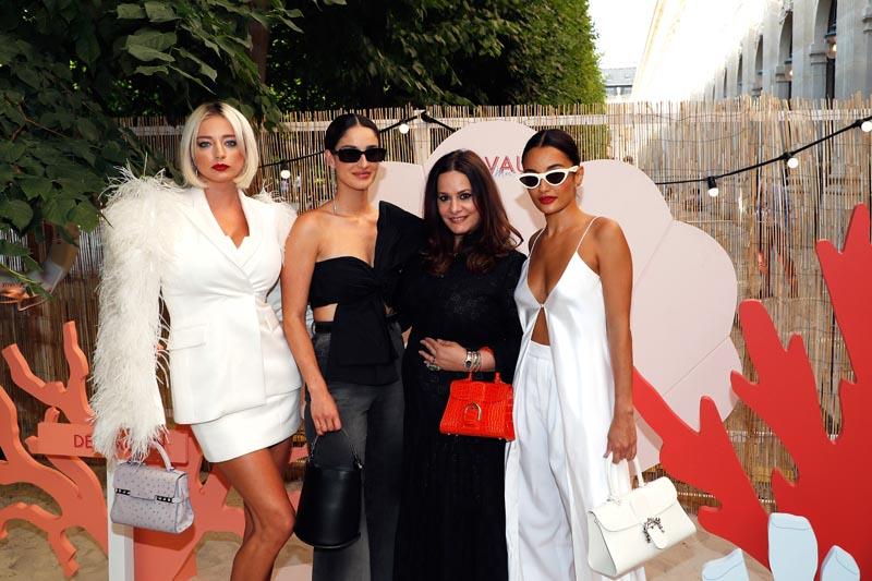 Caroline Vreeland, Fiona Zanetti, Hedieh Loubier et Amina Muaddi