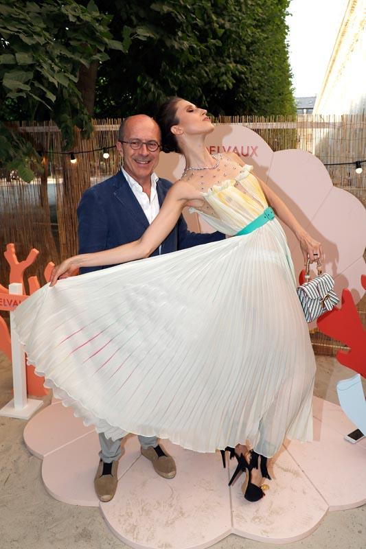 Jean-Marc Loubier et Anna Cleveland