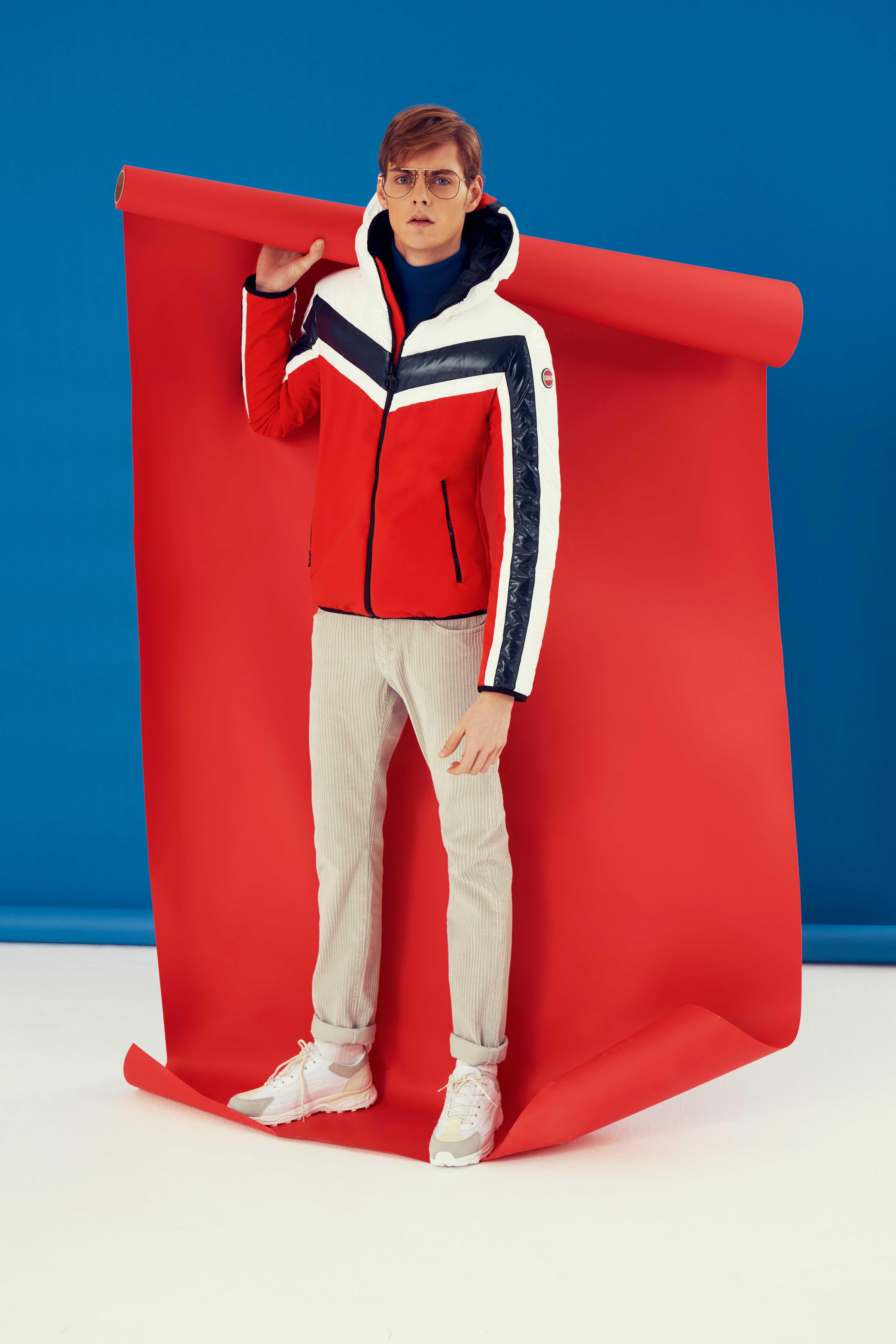 Tel un clin d'oeil aux années 80, la collection de vêtements de ski Originals by Originals de Colmar automne-hiver 2019 se distingue par ses couleurs vives.