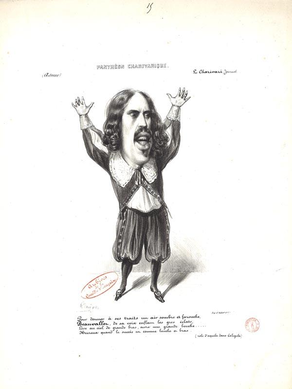 Pierre-François Beauvallet dans Caligula ©Coll. Comédie-Française
