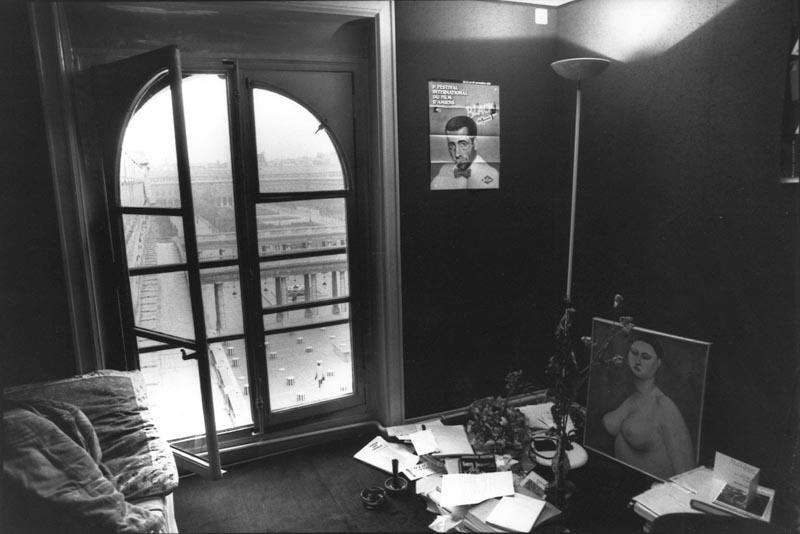 Loge d'Yvonne Gaudeau ©Coll. Comédie-Française