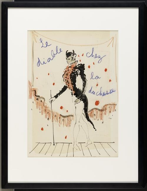 Yves Saint Laurent - Le Diable Chez  La Duchesse, © Fabrice Gousset
