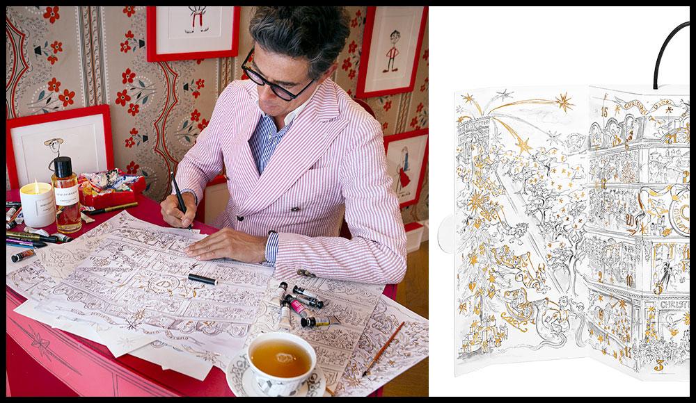 Calendrier De Lavant Dior.La Collab De La Semaine Vincent Darre X Maison Christian Dior