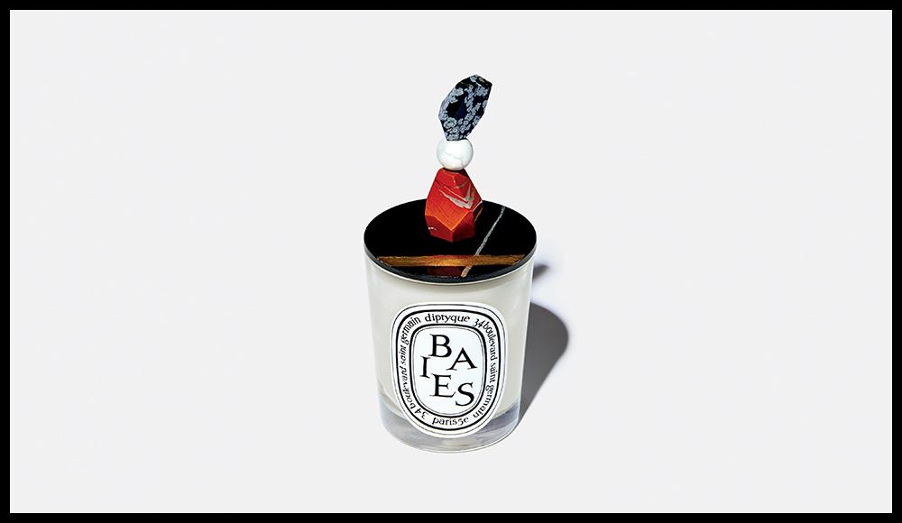 """""""Couvercle pour bougie 190 g"""", par Jean-Baptiste Mayet, LE BAZAR DE DIPTYQUE. 95 euros."""